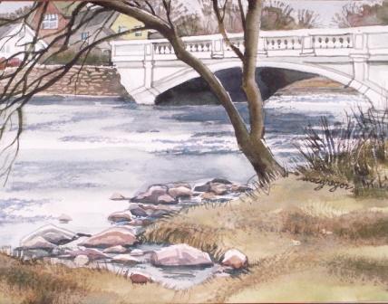 Original Watercolor by Nancy Macgregro