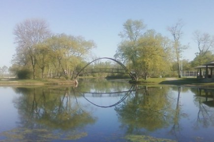 Iron Bridge at Tenney