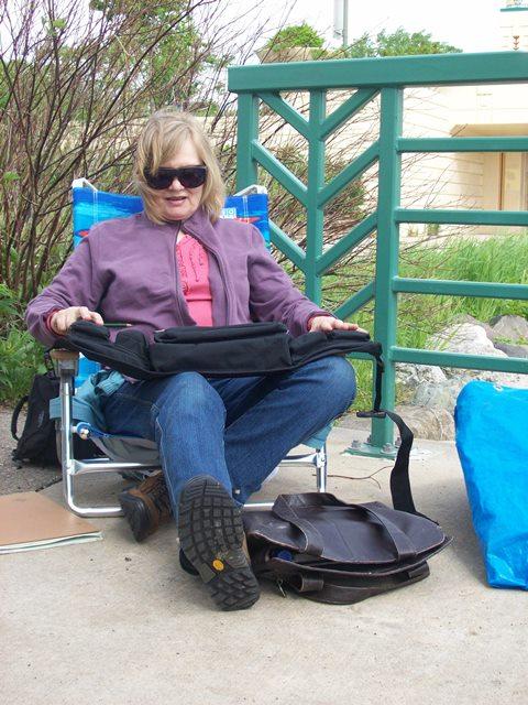 Nancy's travel kit