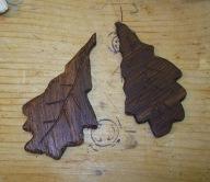 oak leaf earrimngs