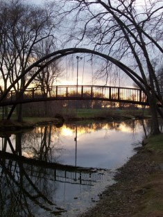 Iron Bridge at Tenney Park
