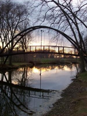 Iron Bridge at Tenney Park