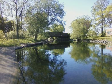 Other side view of Rail Bridge