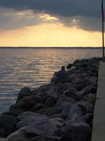 Sunset at the Locks