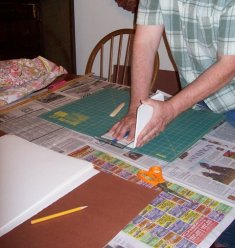 folding thick pages