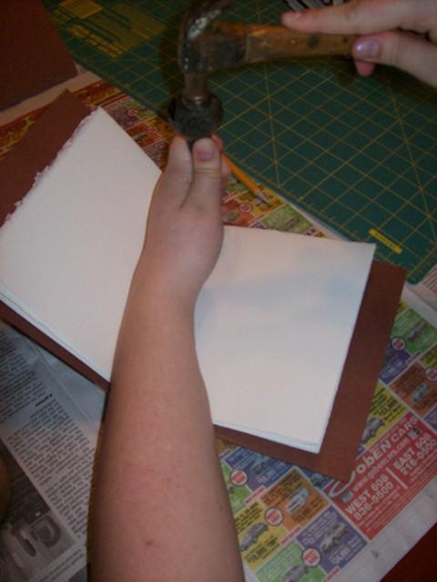 preparing for sewing