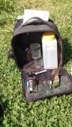 Nancy's travelling kit